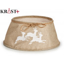 wholesale Decoration: sand-reindeer christmas tree skirt