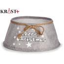 wholesale Decoration: gray christmas tree skirt