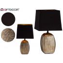rechteckige pla / schwarze Relieflampe