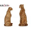 bruine luipaard kleine kerst 28x24x6