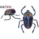 wholesale Music Instruments:shiny blue beetle 15cm