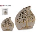 nagyker Otthon és dekoráció: kerámia váza fa élet nagy arany
