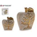 ceramiczna jabłoń życie złoty grand