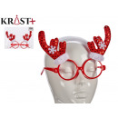 wholesale Glasses: red glasses brill horns reindeer flakes