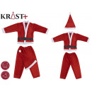 costume santa claus between 0 and 2 years