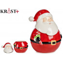 figure santa claus standing long beard
