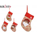 wholesale Stockings & Socks: Christmas socks 4 times assorted