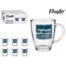 grossiste Drogerie & cosmétiques: mug en verre 32cl Vintage