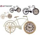 horloge de vélo en métal, couleurs 2 fois assorti