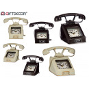 Großhandel Sonstige: klassische Metalltelefonuhr 2 fach sortiert C