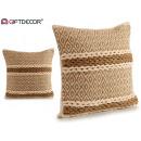 wholesale Cushions & Blankets: beige rhombus cushion 45x45