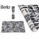 wholesale Carpets & Flooring: 50x80cm dark gray knitted rug