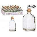 125 ml Glasflasche Korkstopfen