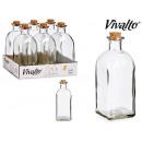 bouteille en verre 750 ml bouchon en liège