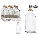 bouteille en verre 1 litre bouchon en liège