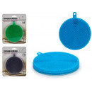 wholesale Household & Kitchen: 3 colors round big silicone scourer