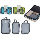 set of 3 travel bags 3 colors mix