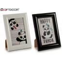 Photo frame 10x15 panda assorted 2gl