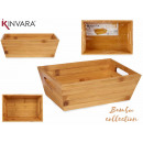 Bambusbox mit Griffen 33cm