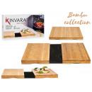 2er Set Küchenbretter aus Bambus 28cm