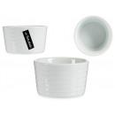 bol rond en porcelaine blanche 250ml
