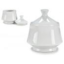 sucrier en porcelaine blanche 400ml