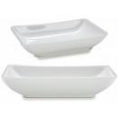 hurtownia Dom & Kuchnia: prostokątna taca z białej porcelany 19c