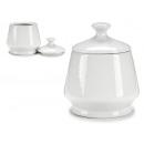 Sucrier en porcelaine blanche de 360 ml