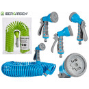 wholesale Garden Equipment: 15m hose with 8 nozzles, 2 times assorted colo