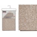 Wachstuch Tischdecke 140x140cm Buchstaben