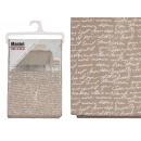 Wachstuch Tischdecke 140x240cm Buchstaben