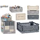 4l multipurpose folding box set of 3