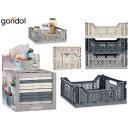 wholesale Decoration: 15l multipurpose folding box set of 3