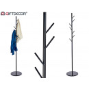 black tree shape metal coat rack