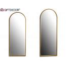 specchio 69x186cm a forma di fiocco dorato