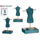 wholesale Jewelry & Watches: jewelry holder mannequin velvet green wall art