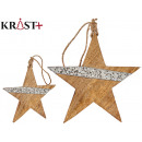 solid star wood with glitter 23c