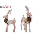 big brown reindeer figure 60cm