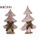 christmas tree metallic wire copper