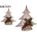 Baumdekoration Weihnachten Metallic-Faden