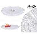 plate infinity crystal 21cm