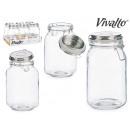 1500ml Silberdeckelglas