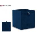 wholesale Decoration: cobalt blue 30 cm organizer box