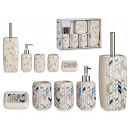 wholesale Home & Living: ceramic bathroom set 5 pcs stripes, 2 times its