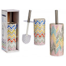 ceramic brush holder square colors, 2 times south
