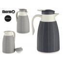 wholesale Thermos jugs: thermos jug 1l plastic, colors 2 times assorted