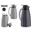 thermos jug 1l plastic handle trans, colors 2 time