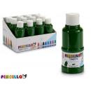 paint bottle tempera 120 ml dark green