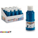 paint bottle tempera 120 ml light blue