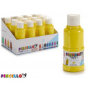 paint bottle tempera 120 ml yellow